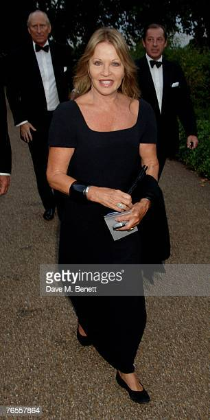Anouska Hempel attends the Royal Parks Foundation Summer Party hosted by CandyCandy at the Serpentine Lido on September 6 2007 in London England