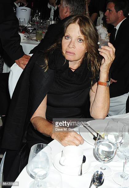 Anouska Hempel attends the Shooting Stars in Desert Nights Benefit 2009 Party hosted by Samuel L Jackson in aid of the Samuel L Jackson Foundation...