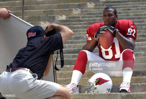 Anquan Boldin, Arizona Cardnials during Reebok NFL Players Rookie Premiere Presented by 989 Sports at LA Coliseum in Los Angeles, California, United...