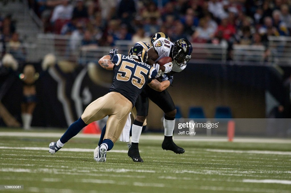 Baltimore Ravens v St. Louis Rams : News Photo