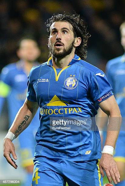 Anri Khagush of Bate Borisov in action during the UEFA Champions League Group H match between Bate Borisov and Athletic Bilbao at the Borisov Arena...