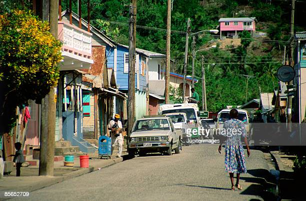 anse la raye , st lucia , caribbean - raye stock pictures, royalty-free photos & images