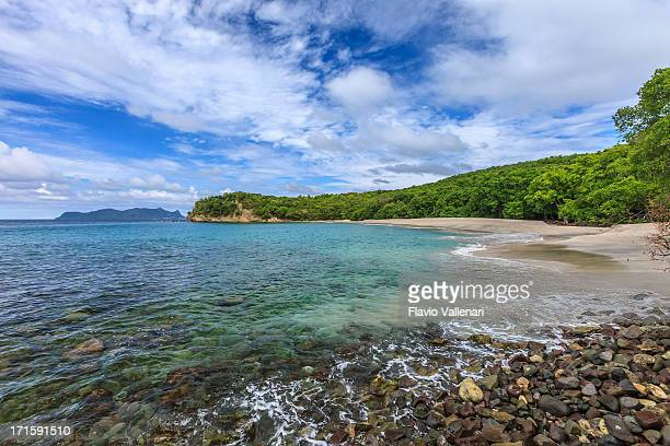 anse la roche beach, carriacou - paisajes de isla de  granada fotografías e imágenes de stock