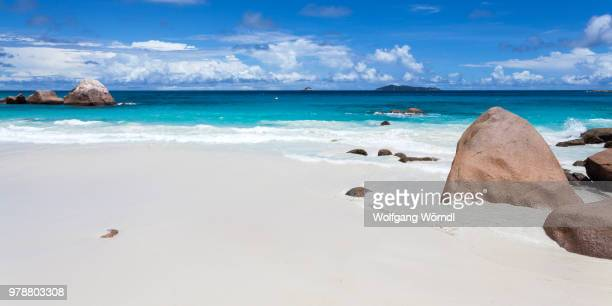 anse lazio panorama - wolfgang wörndl stock pictures, royalty-free photos & images