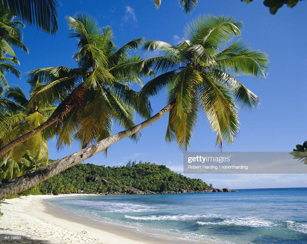 Anse Takamaka, Mahe, Seychelles : Foto de stock