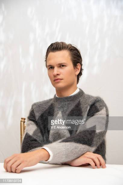 "Ansel Elgort at ""The Goldfinch"" Press Conference at the Fairmont Royal York on September 08, 2019 in Toronto, Canada."