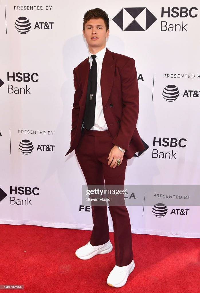 Ansel Elgort attends a screening of 'Jonathan' during the 2018 Tribeca Film Festival at SVA Theatre on April 21, 2018 in New York City.