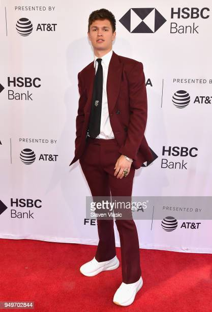 Ansel Elgort attends a screening of Jonathan during the 2018 Tribeca Film Festival at SVA Theatre on April 21 2018 in New York City
