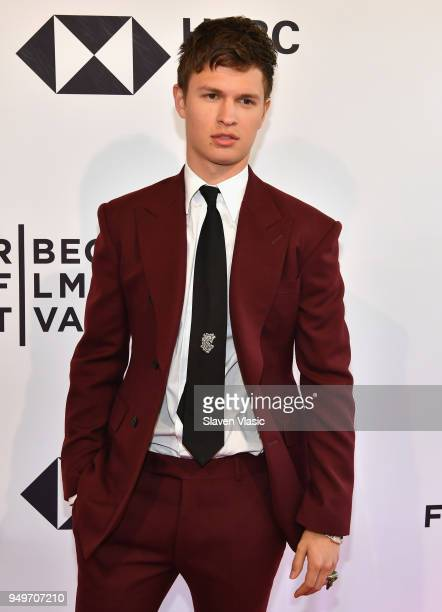 Ansel Elgort attends a screening of 'Jonathan' during the 2018 Tribeca Film Festival at SVA Theatre on April 21 2018 in New York City
