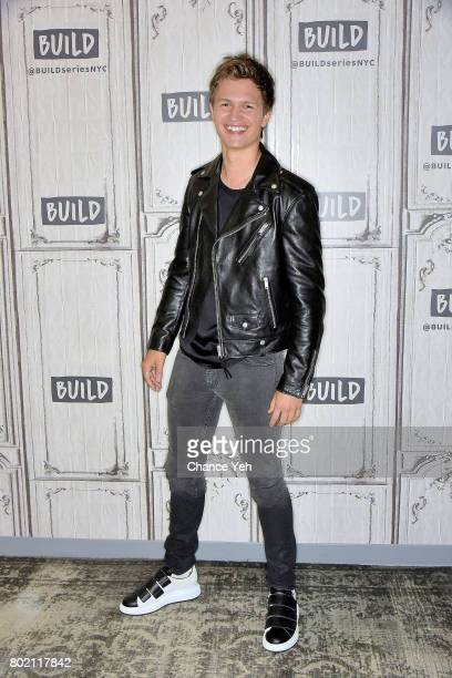 Ansel Elgort attends Build series to discuss 'Baby Driver' at Build Studio on June 27 2017 in New York City