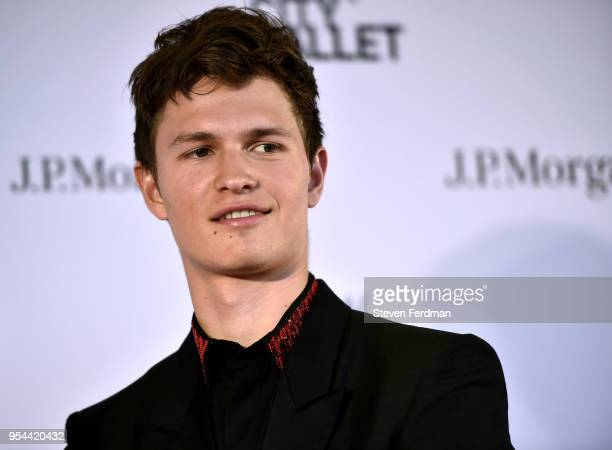 Ansel Elgort attends New York City Ballet 2018 Spring Gala at Lincoln Center on May 3 2018 in New York City