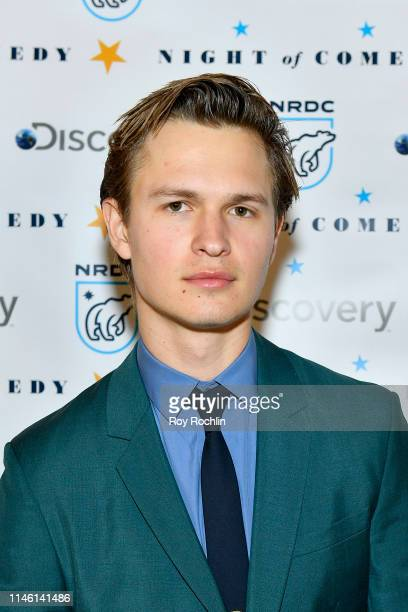 "Ansel Elgort attends NRDC's ""Night of Comedy"" Benefit, in partnership with Discovery, Inc. Hosted by Seth Meyers on April 30, 2019 in New York City."
