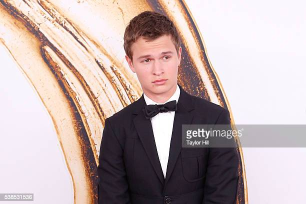 Ansel Elgort attends the 2016 CFDA Fashion Awards at the Hammerstein Ballroom on June 6 2016 in New York City