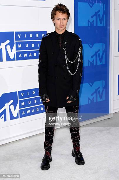 Ansel Elgort attends the 2016 MTV Video Music Awards at Madison Square Garden on August 28 2016 in New York City