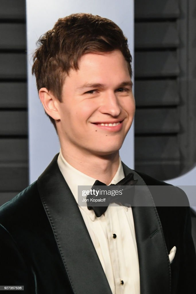 Ansel Elgort attends the 2018 Vanity Fair Oscar Party hosted by Radhika Jones at Wallis Annenberg Center for the Performing Arts on March 4, 2018 in Beverly Hills, California.