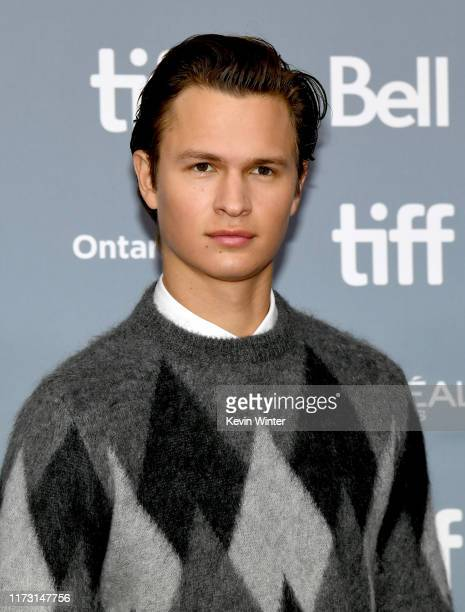 Ansel Elgort attends The Goldfinch press conference during the 2019 Toronto International Film Festival at TIFF Bell Lightbox on September 08 2019 in...