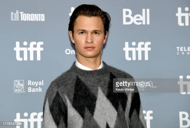 "Ansel Elgort attends ""The Goldfinch"" press conference during the 2019 Toronto International Film Festival at TIFF Bell Lightbox on September 08, 2019..."