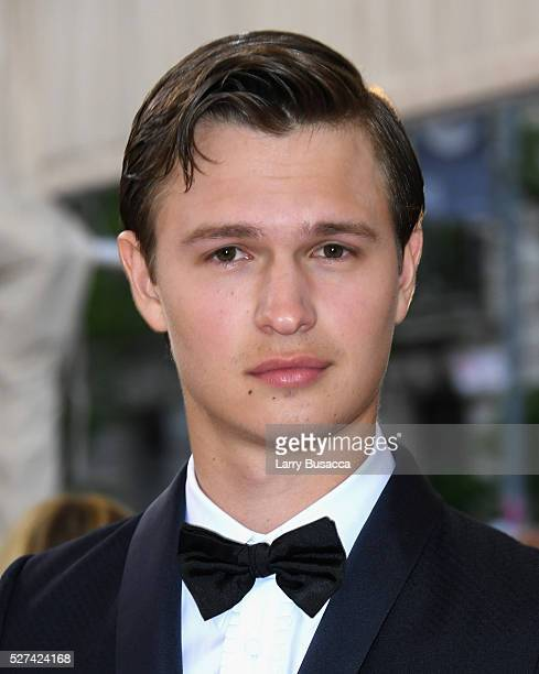 Ansel Elgort attends the Manus x Machina Fashion In An Age Of Technology Costume Institute Gala at Metropolitan Museum of Art on May 2 2016 in New...