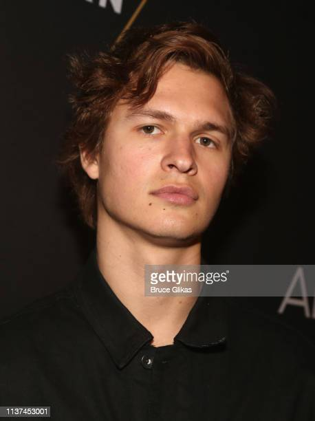 Ansel Elgort attends the opening night of the play Burn This on Broadway at The Hudson Theatre on April 15 2019 in New York City