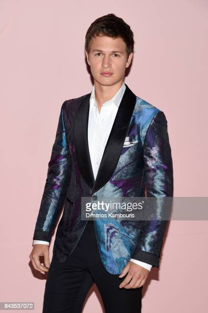 Ansel Elgort attends the Tom Ford Spring/Summer 2018 Runway Show at Park Avenue Armory on September 6 2017 in New York City