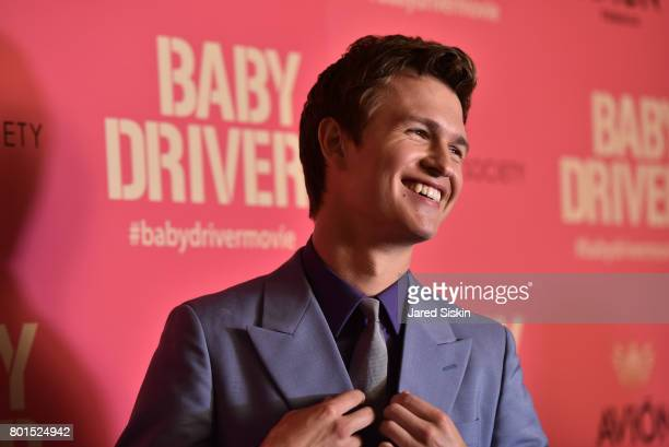 Ansel Elgort attends TriStar Pictures with The Cinema Society Avion host a screening of 'Baby Driver' at Metrograph on June 26 2017 in New York City