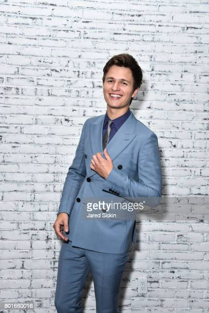 Ansel Elgort attends TriStar Pictures with The Cinema Society Avion host the after party for 'Baby Driver' at The Crown at Hotel 50 Bowery on June 26...