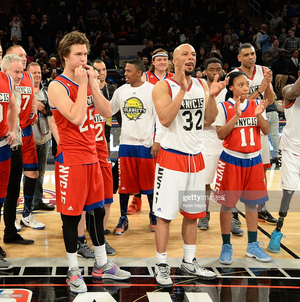 NBA All-Star Celebrity Game : News Photo