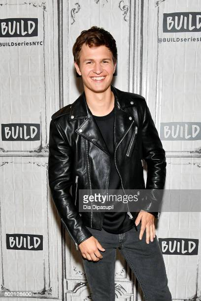 Ansel Elgort visits Build to discuss Baby Driver at Build Studio on June 27 2017 in New York City