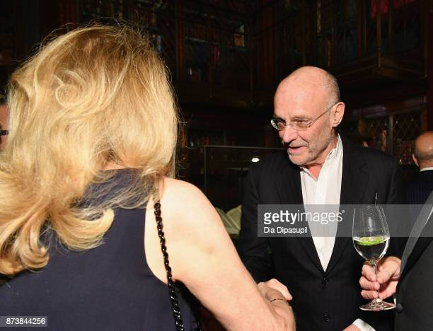 Anselm Kiefer attends the Getty Medal Dinner 2017 at The Morgan Library Museum on November 13 2017 in New York City