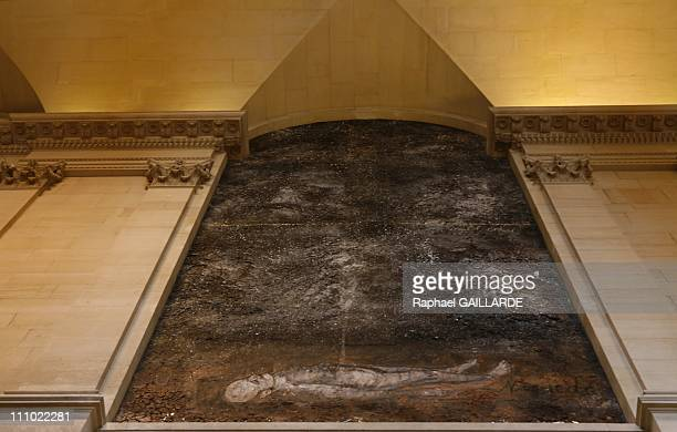 Anselm Kiefer decorated the Louvre museum in Paris France on October 25th 2007 with his masterpiece 'Athanor' H 110cm It is the first time in half a...