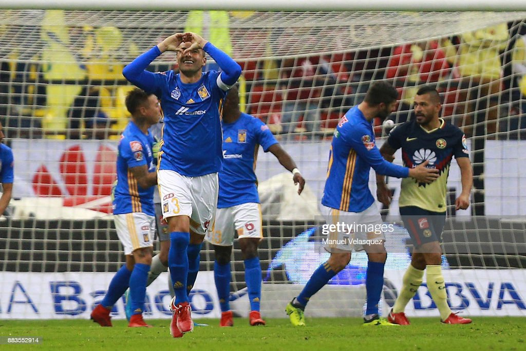 America v Tigres UANL - Playoffs Torneo Apertura 2017 Liga MX : News Photo
