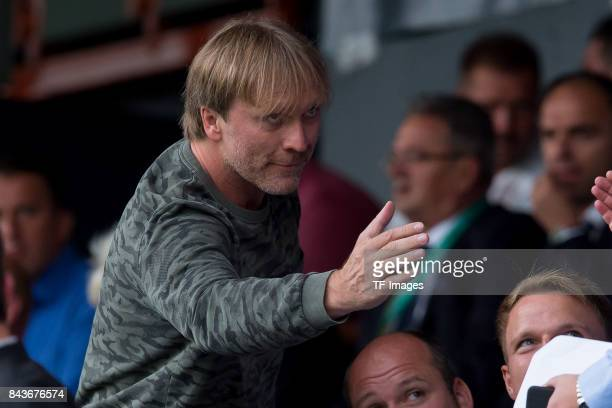 Ansgar Brinkmann during the U21 UEFA 2018 EM Qualifying match between Germany and Kosovo at the Stadion Bremer Bruecken in Osnabrueck Germany on...