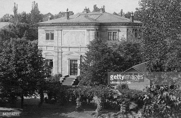 Ansicht der Villa ehemaliges Wohnhaus von Richard Wagners um 1900veröffentlicht Berliner Illustrirte Zeitung BIZ 27/1901