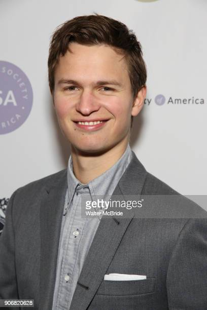 Anson Elgort attends the Casting Society of America's 33rd annual Artios Awards at Stage 48 on January 18 2018 in New York City