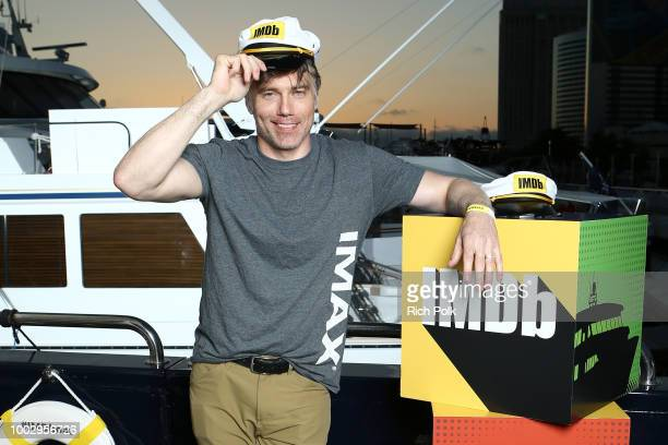 Mehcad Brooks and David Harewood attend the #IMDboat Party At San Diego ComicCon 2018 Sponsored By Atom Tickets at The IMDb Yacht on July 20 2018 in...
