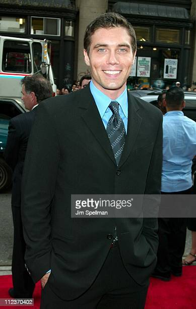 Anson Mount during City By The Sea Premiere New York at Union Square Theatre in New York City New York United States