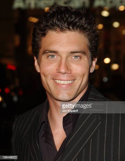 Anson Mount during Constantine Los Angeles Premiere Arrivals at Grauman's Chinese Theater in Hollywood California United States