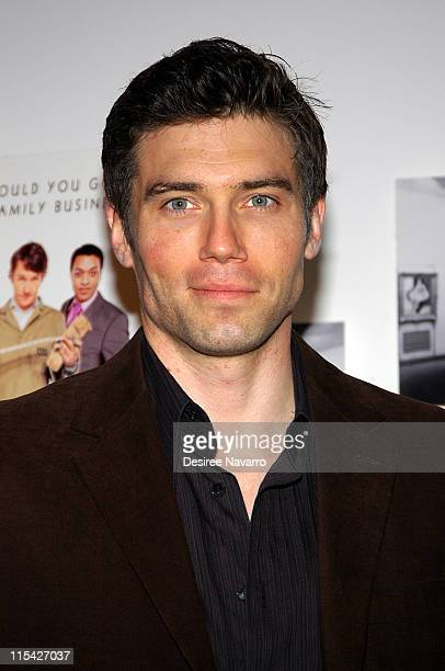 Anson Mount during Kinky Boots New York City Premiere Arrivals at MOMA Titus II Theater in New York City New York United States