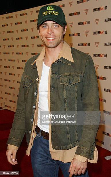 Anson Mount during Maxim Hot 100 Party Arrivals at Yamashiro in Hollywood California United States