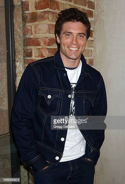 Anson Mount during Screening of Independent Film Channel's Original series 'Running With The Bulls' at Cinespace in Hollywood California United States