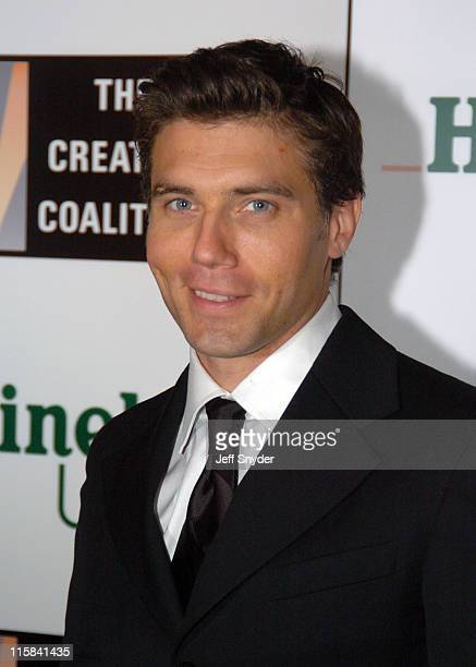 Anson Mount during The Creative Coalition's Ball After the Ball at Ronald Reagan Building in Washington DC United States
