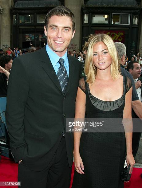 Anson Mount Kendall Howard during City By The Sea Premiere New York at Union Square Theatre in New York City New York United States