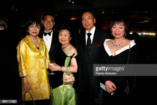 Ansso Wang Huey Din Helen Little Michael Tong and Karen Li attend NEW YORK CITY OPERA Winter Gala at Carnegie Hall on January 15 2009 in New York City