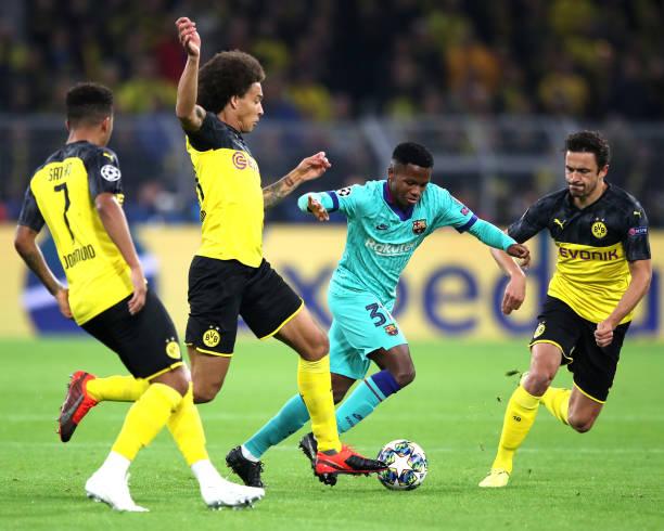 DEU: Borussia Dortmund v FC Barcelona: Group F - UEFA Champions League