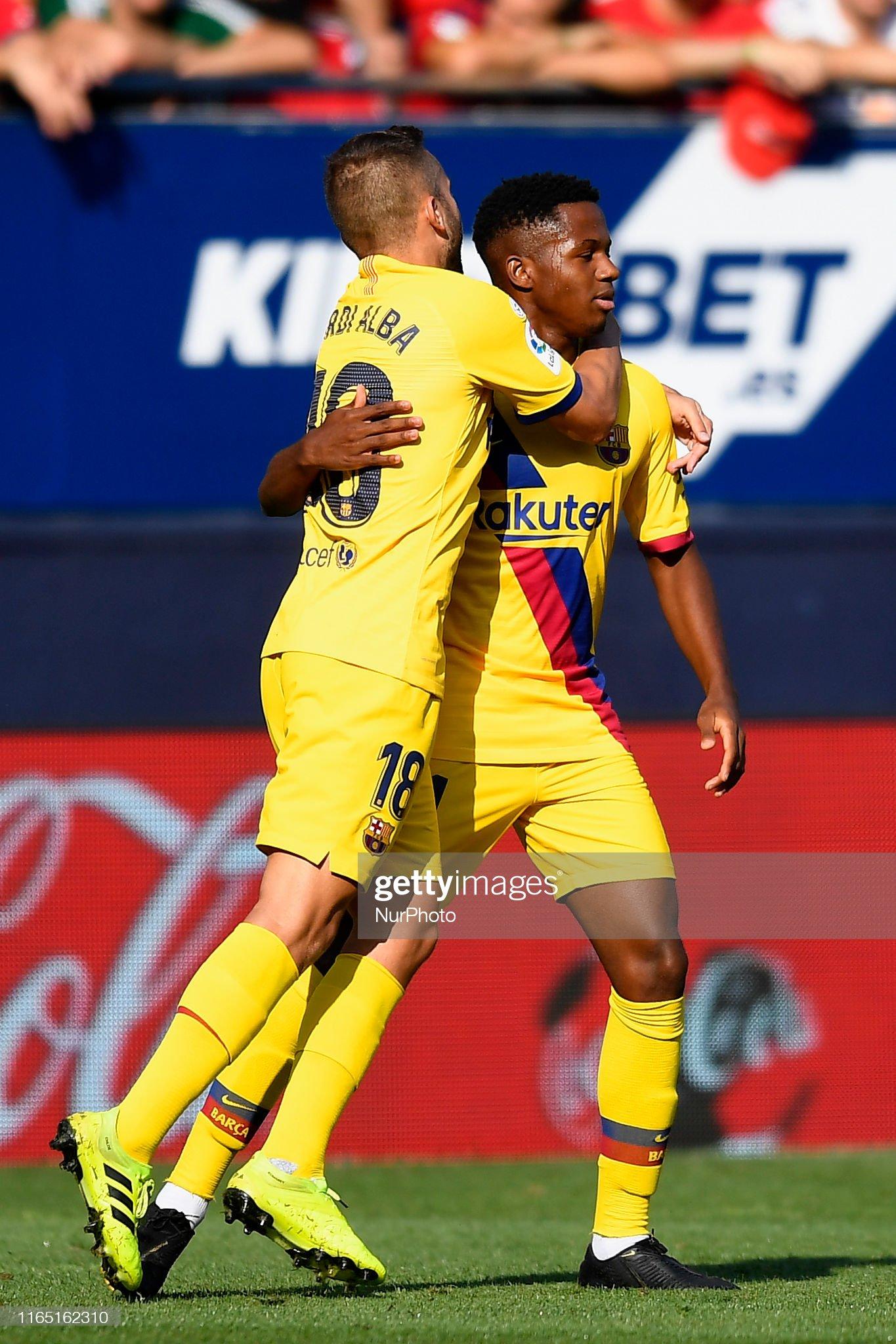 صور مباراة : أوساسونا - برشلونة 2-2 ( 31-08-2019 )  Ansu-fati-of-barcelona-celebrates-after-scoring-his-sides-first-goal-picture-id1165162310?s=2048x2048
