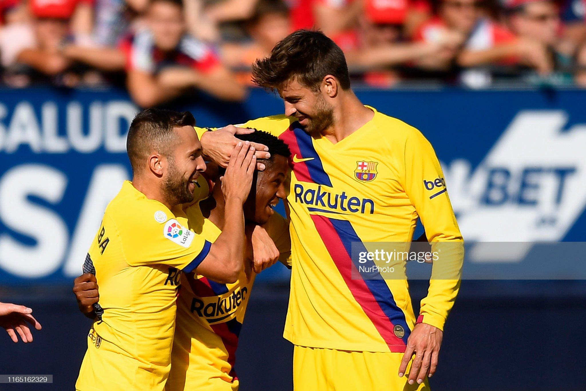 صور مباراة : أوساسونا - برشلونة 2-2 ( 31-08-2019 )  Ansu-fati-of-barcelona-celebrates-after-scoring-his-sides-first-goal-picture-id1165162329?s=2048x2048
