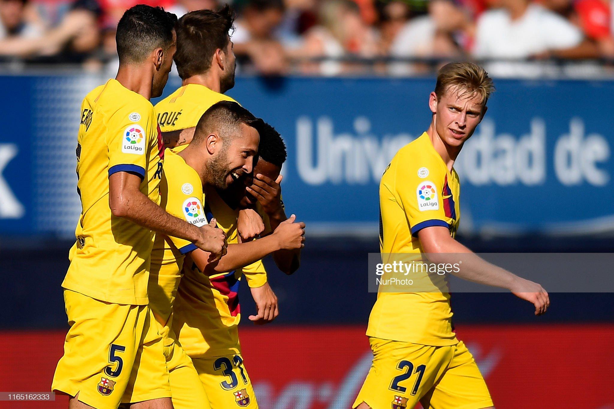 صور مباراة : أوساسونا - برشلونة 2-2 ( 31-08-2019 )  Ansu-fati-of-barcelona-celebrates-after-scoring-his-sides-first-goal-picture-id1165162333?s=2048x2048