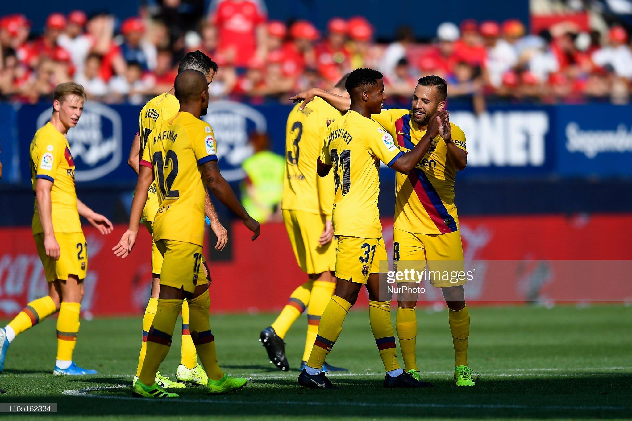 صور مباراة : أوساسونا - برشلونة 2-2 ( 31-08-2019 )  Ansu-fati-of-barcelona-celebrates-after-scoring-his-sides-first-goal-picture-id1165162334?s=2048x2048