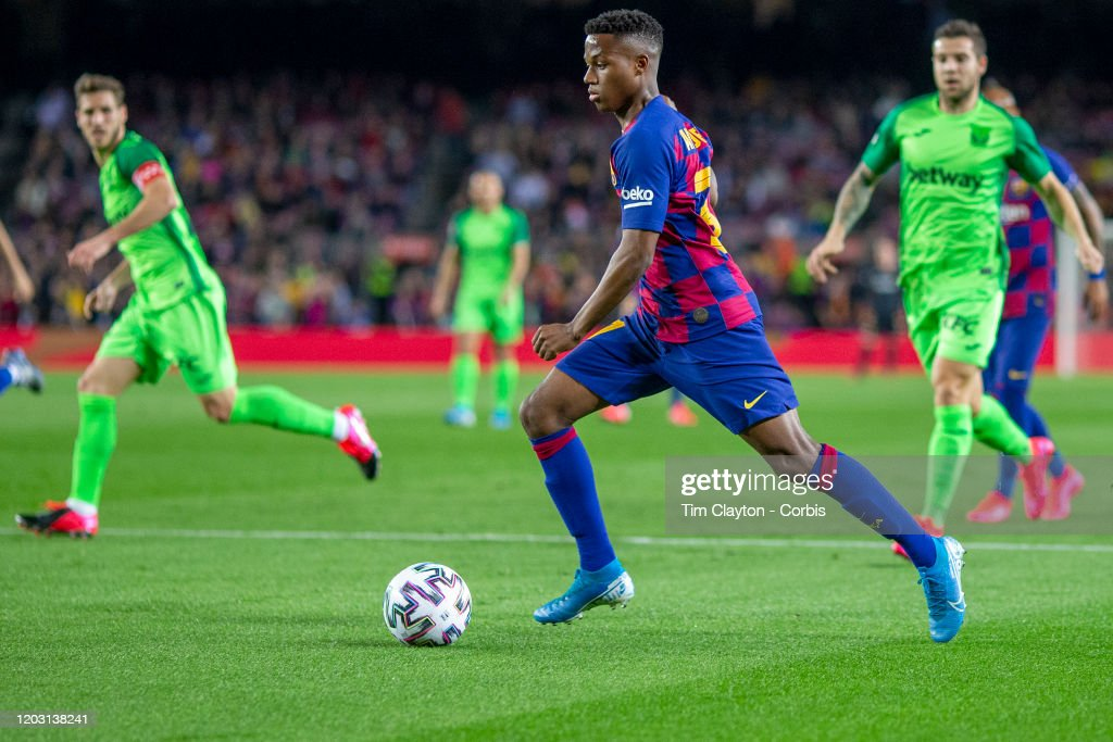 Barcelona V Leganes : News Photo