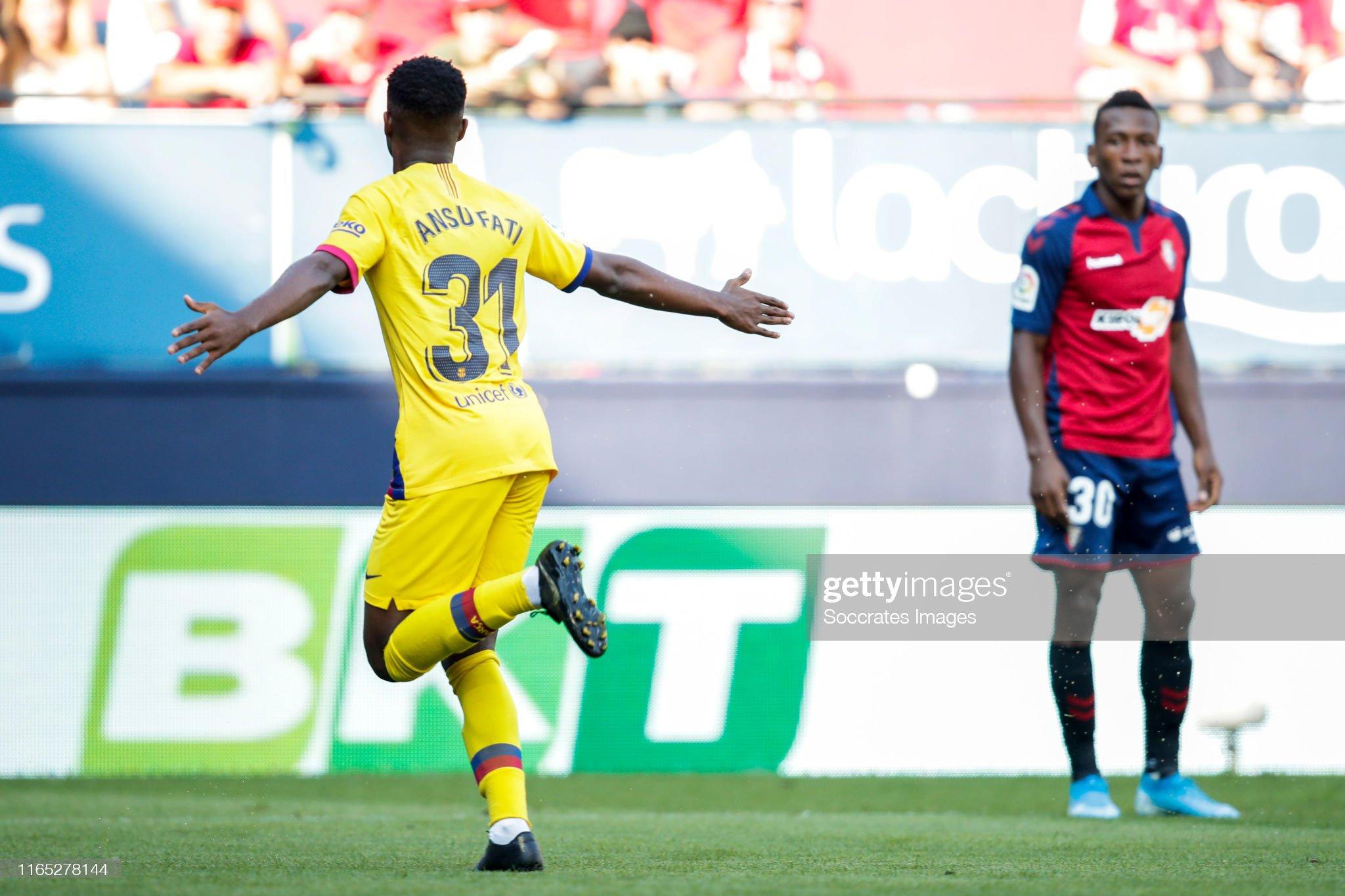 صور مباراة : أوساسونا - برشلونة 2-2 ( 31-08-2019 )  Ansu-fati-of-fc-barcelona-celebrates-goal-11-during-the-la-liga-v-picture-id1165278144?s=2048x2048